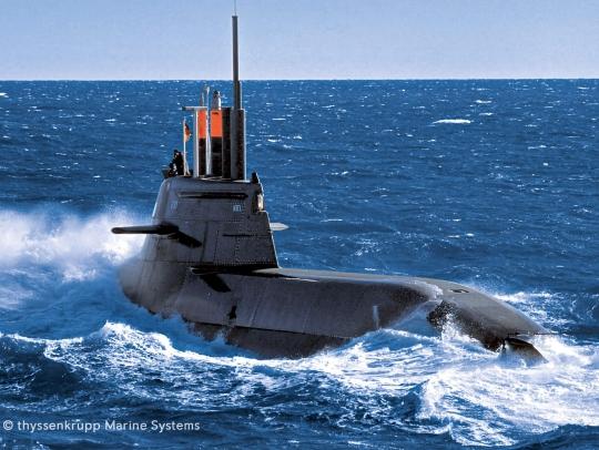 MTU Engines Submarines